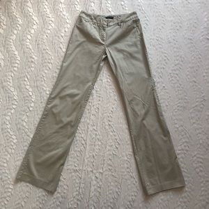 New York & Company Beige Stretch Pants Sz 0 Tall